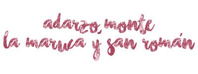 Adarzo, Monte, La Maruca y San Román