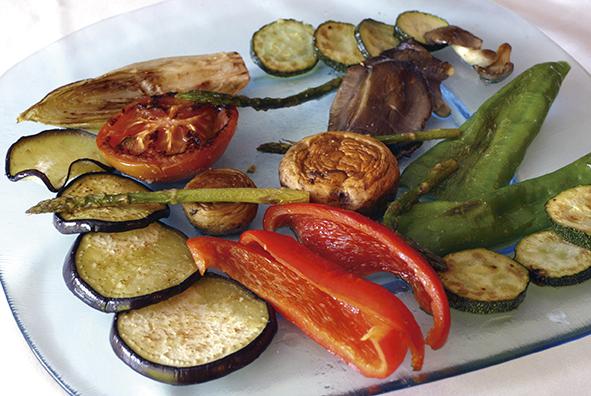 restaurante El Machinero , platos de comida